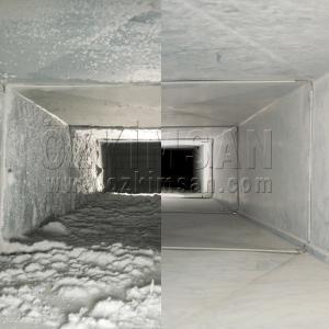 Klima Temizleyici Öncesi/Sonrası