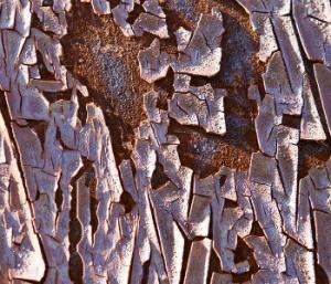 Pası Sökülmeden Boyanmış Demir