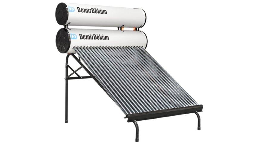Güneş enerji sistemi boru ve tankındaki kireci sökme